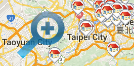 Taichung Hotels on Map